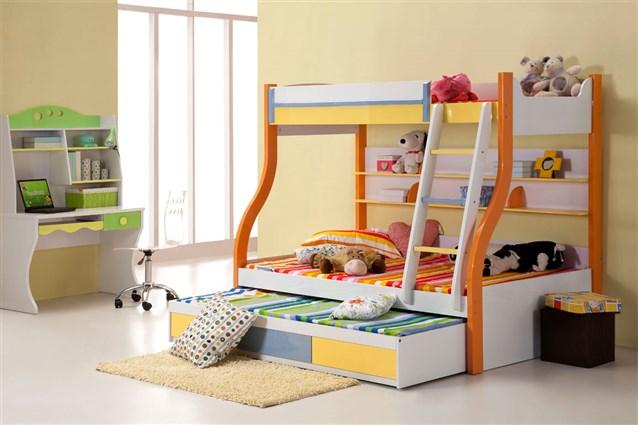 ترتيب غرف الاطفال الضيقة