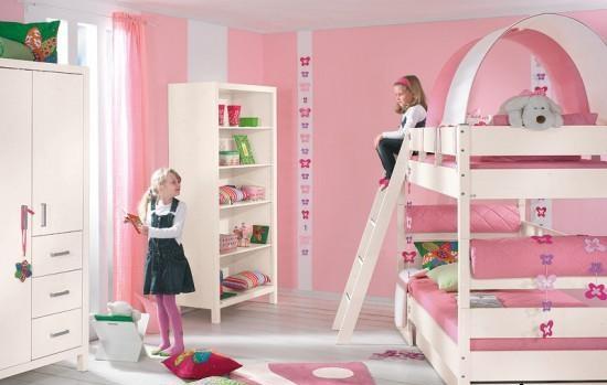 ترتيب غرف الاطفال الضيقه