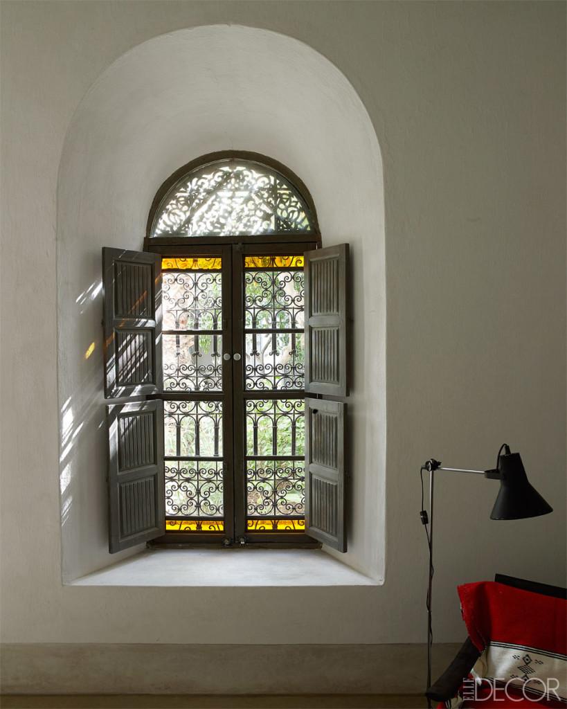 نافذة غرفة الجلوس