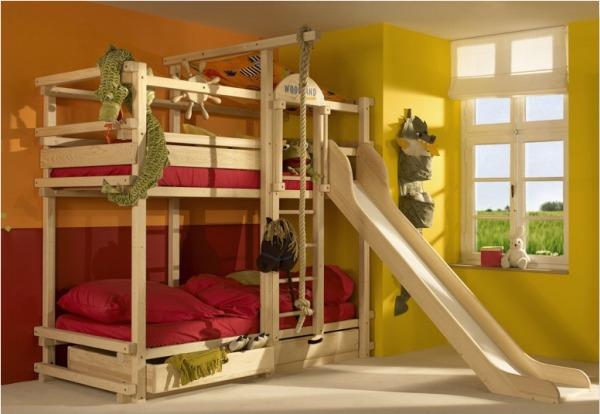 غرف نوم اطفال طابقين