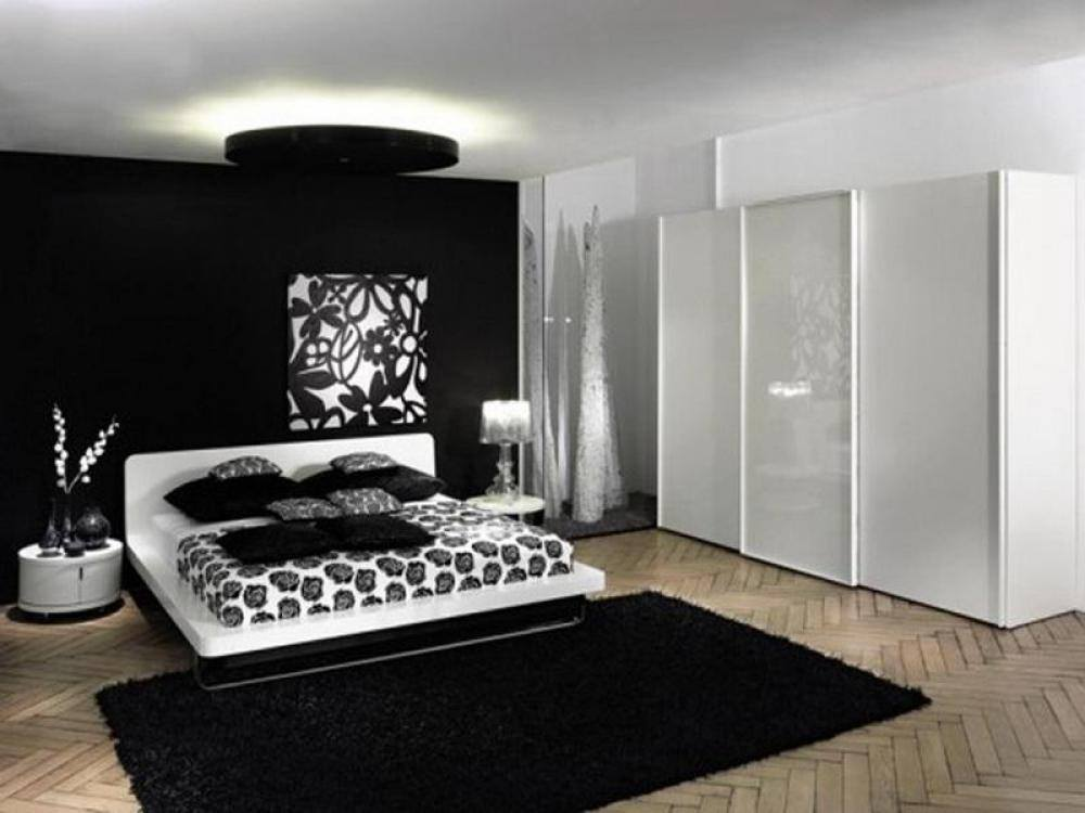 for Bedroom ideas in black and white