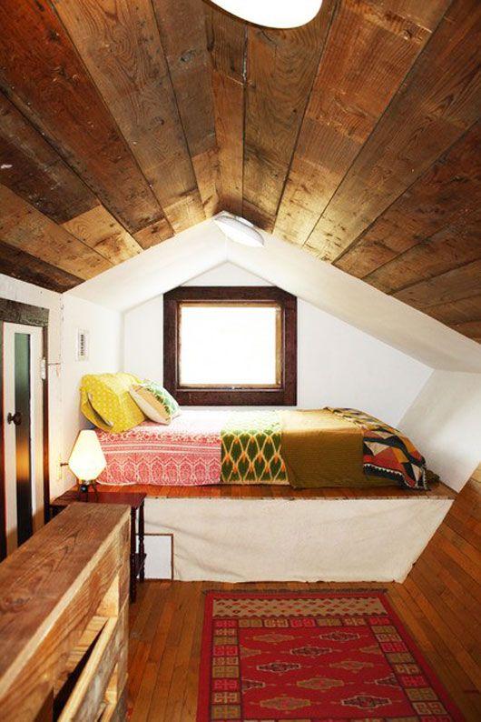 ترتيب مقترح لغرفة نوم بالعلية -رووف-