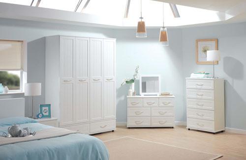 اجمل غرف النوم البيضاء للعرسان