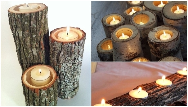 Rustic-Candle-Holders