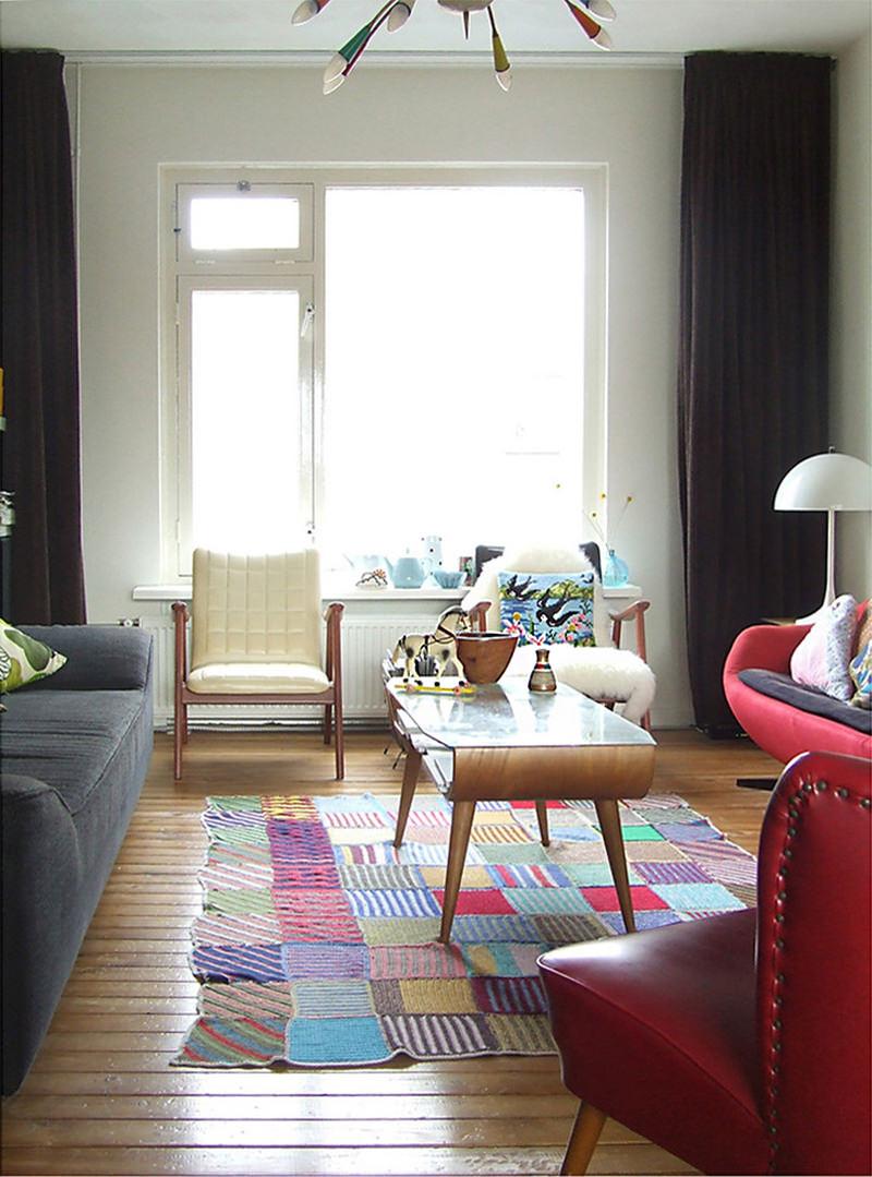 اشكال سجاد مودرن بألوان ربيعية مميزة