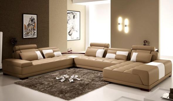 تصاميم جميلة لغرف المعيشة الصغيرة