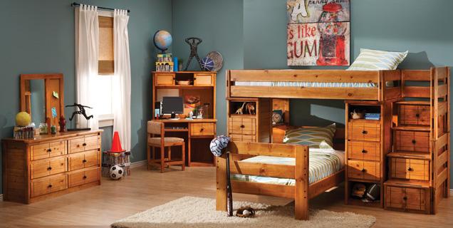 تصاميم سرير طابقين 8