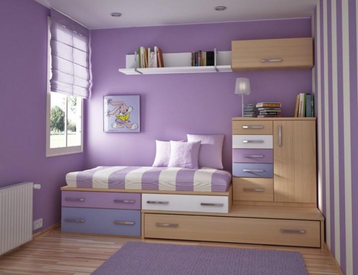 غرف نوم صغيرة