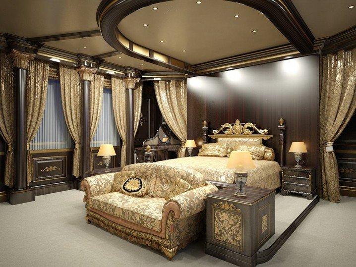 ديكورات اسقف غرف نوم