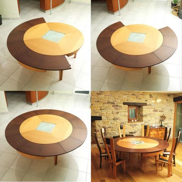 طاولات سفرة دائرية جميلة
