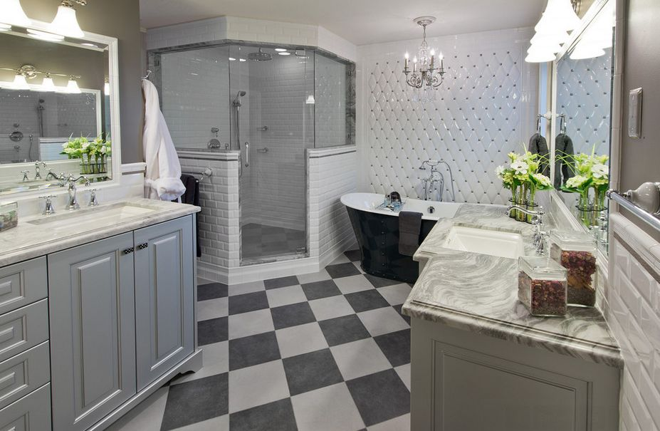استغلال المساحات الضيقة في الحمام