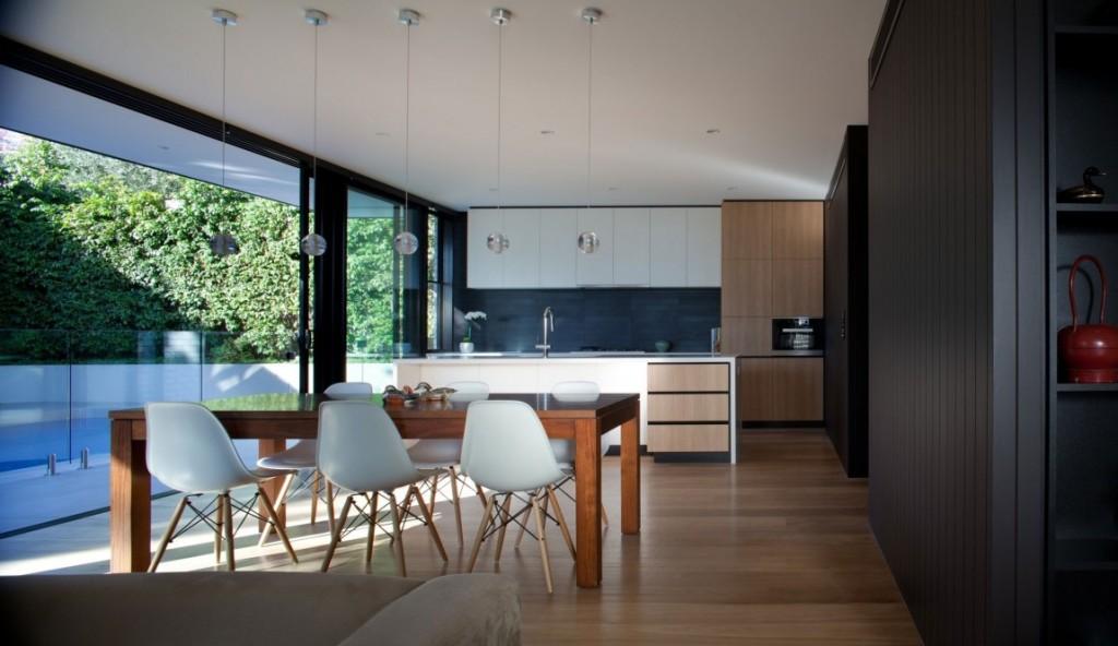 تصاميم مطابخ مفتوحة على غرف المعيشة