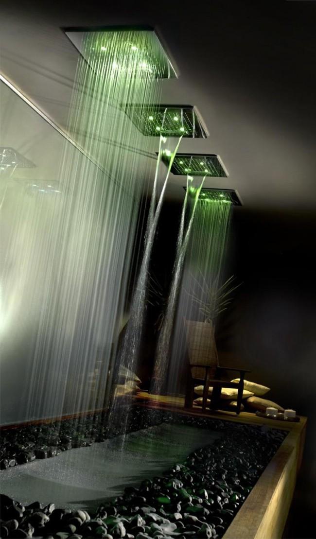 ديكورات غريبه للحمامات