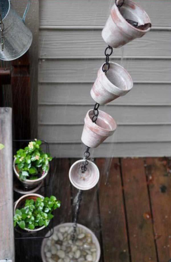 افكار بسيطة لتزيين حديقة المنزل