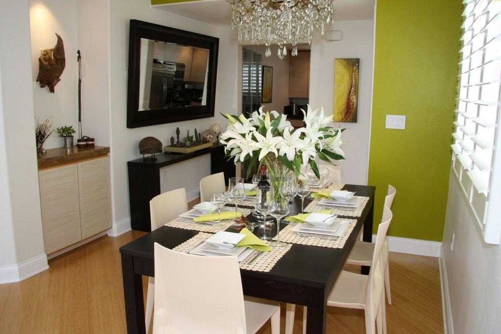 تصاميم غرف طعام و غرف الجلوس