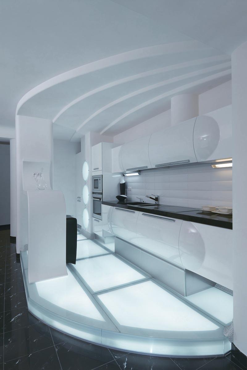 تصميم مميز وعصري لشقة