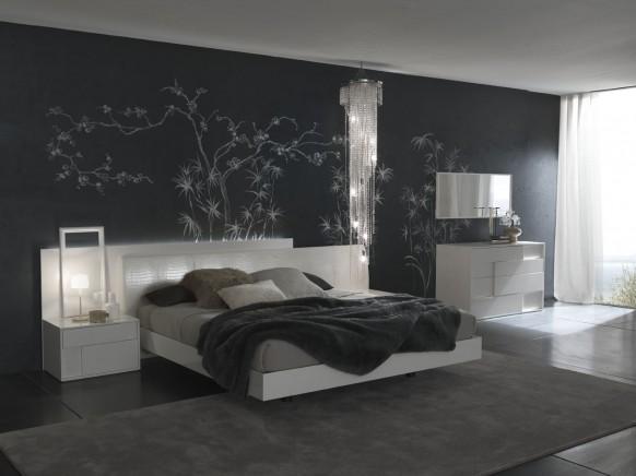 صور غرف نوم بيضاء