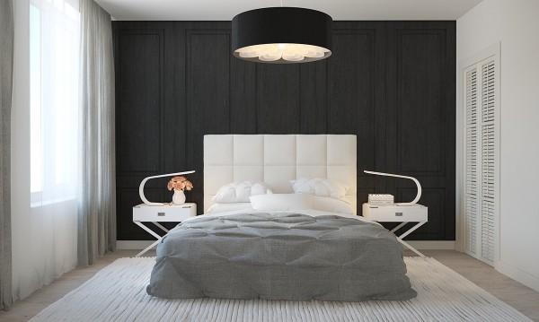 ديكورات غرف نوم بيضاء