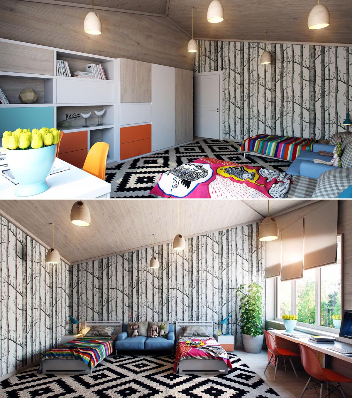 ديكور لجدران غرف نوم اطفالك