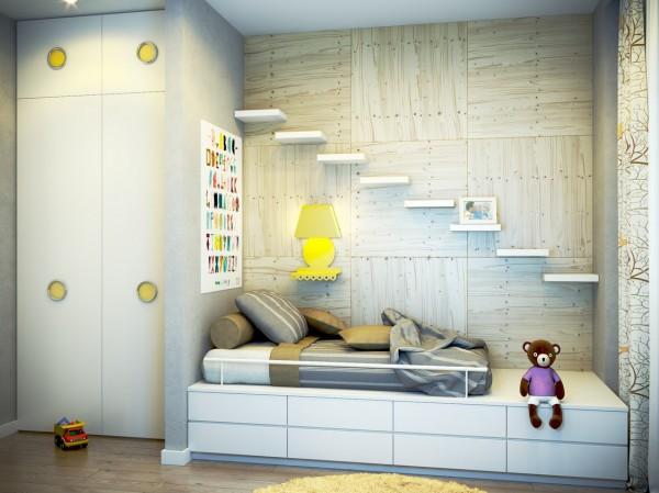 ديكورات لغرف نوم الاطفال للمساحات الضيقة