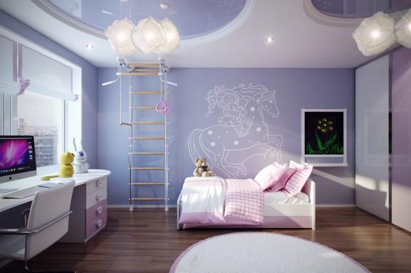 احدث رسومات غرف نوم الاطفال