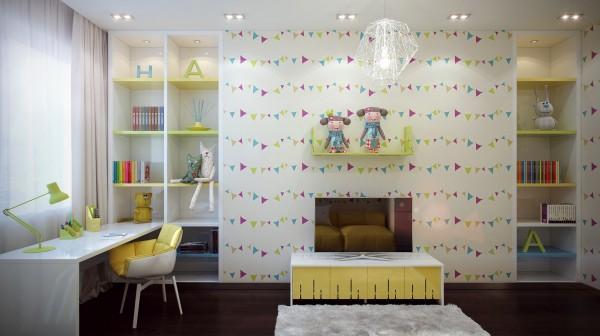 أفكار لديكورات غرف نوم الاطفال