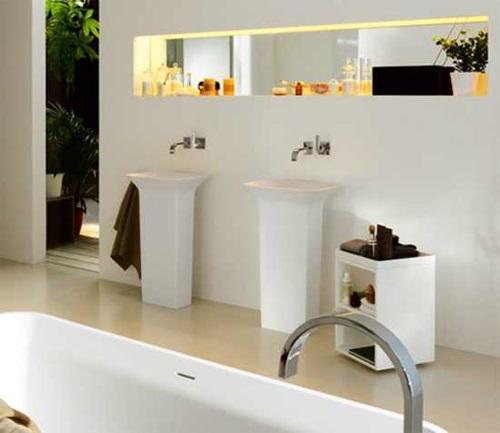 خزائن الحمامات