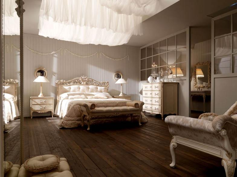 غرف نوم للعرسان رومانسية