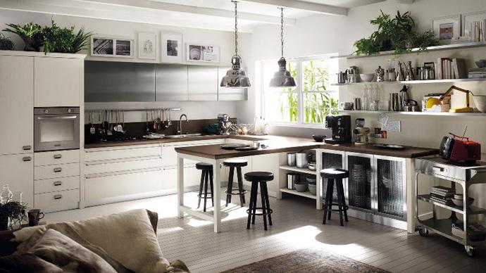 اجمل تصاميم المطابخ الخشبية