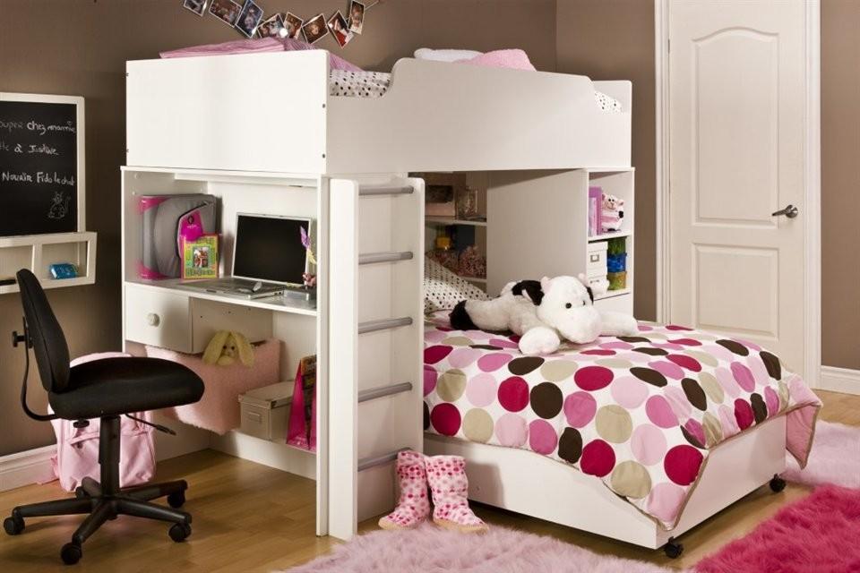 سرير اطفال ذو طابقين