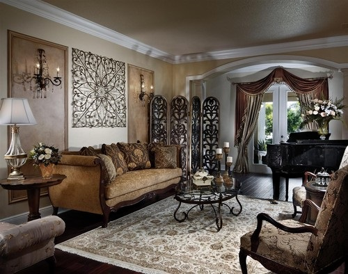 Amazing-Ways-to-Decorate-a-Romantic-Traditional-Living-Room-12