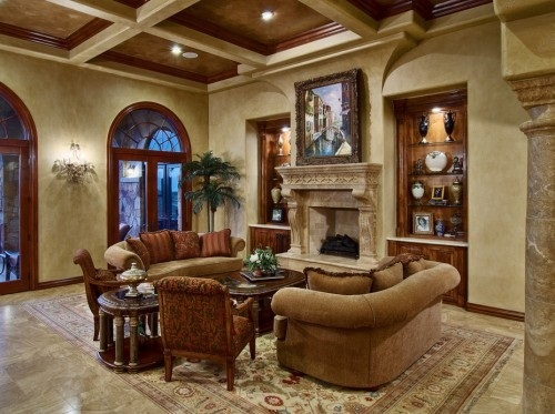 Amazing-Ways-to-Decorate-a-Romantic-Traditional-Living-Room-14
