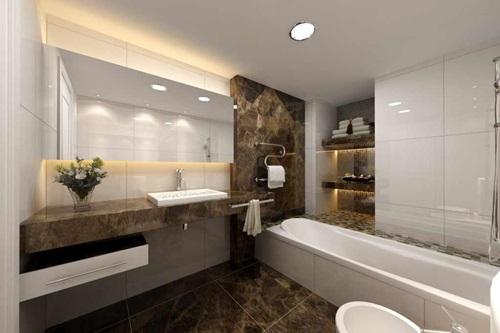 ديكور حمام مودرن