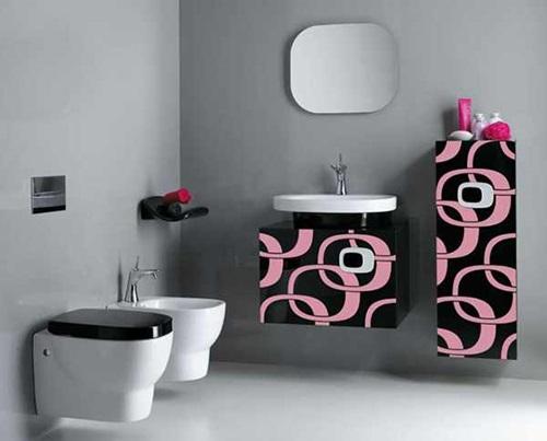 ديكورات مودرن لأجمل الحمامات