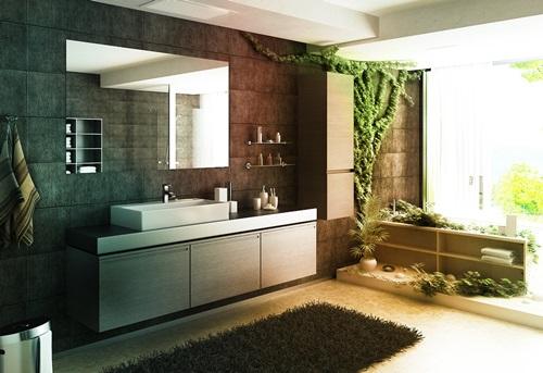 اجمل ديكور حمامات