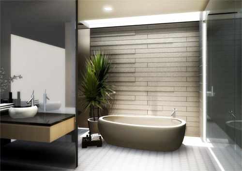 ديكور مميز للحمامات