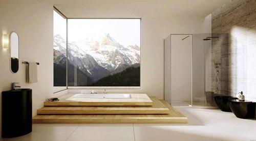 ديكور حمامات مبتكر