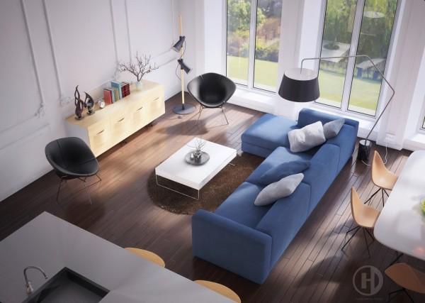 ديكورات مميزة لغرف الجلوس