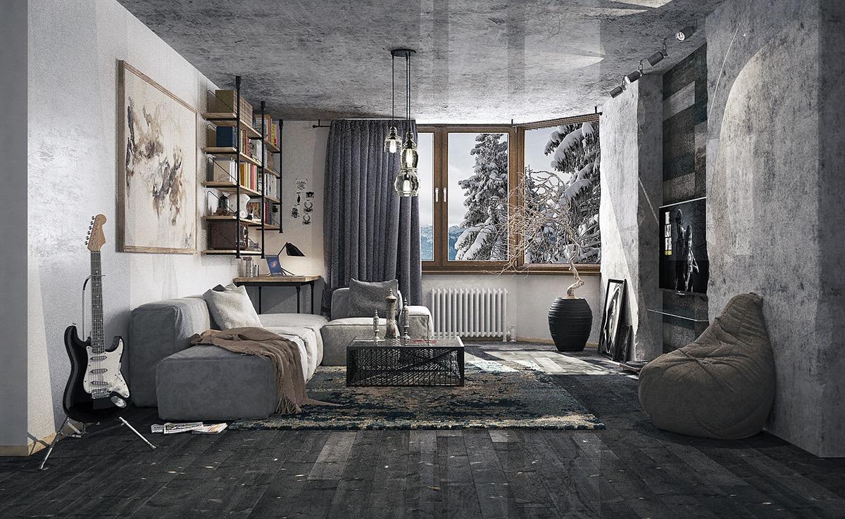 تصميم غرفة جلوس