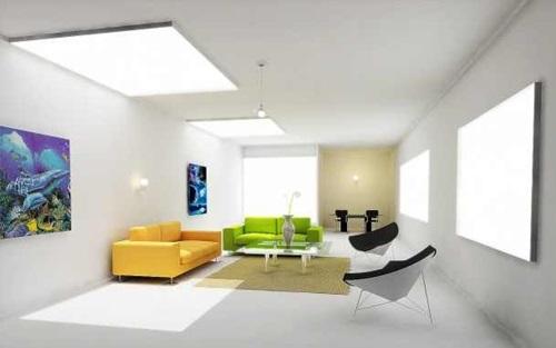تزيين غرف المعيشة
