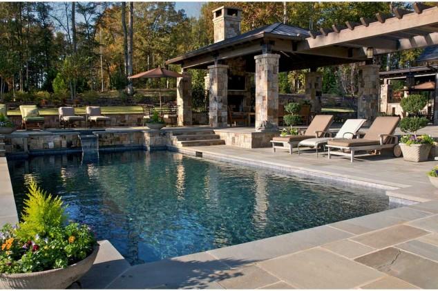 اجمل تصاميم احواض السباحة 16