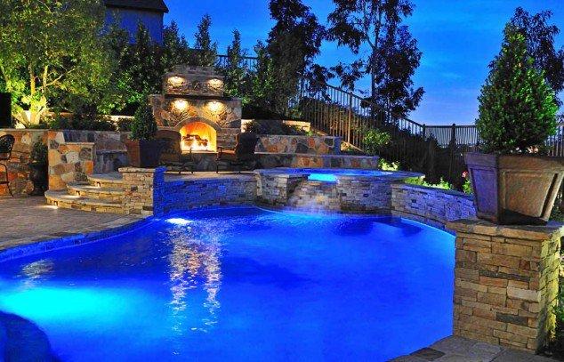 اجمل تصاميم احواض السباحة 17
