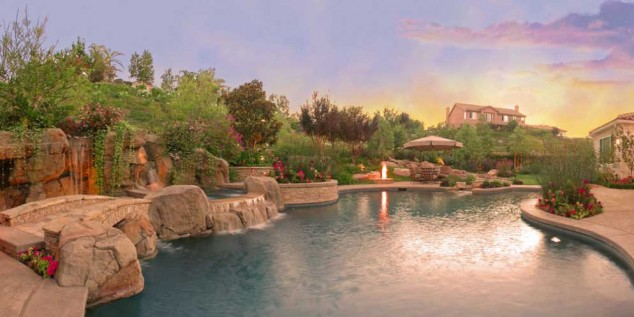اجمل تصاميم احواض السباحة 21