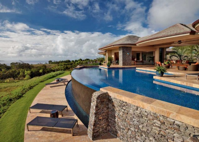 اجمل تصاميم احواض السباحة 22