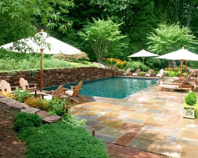 اجمل تصاميم احواض السباحة 27