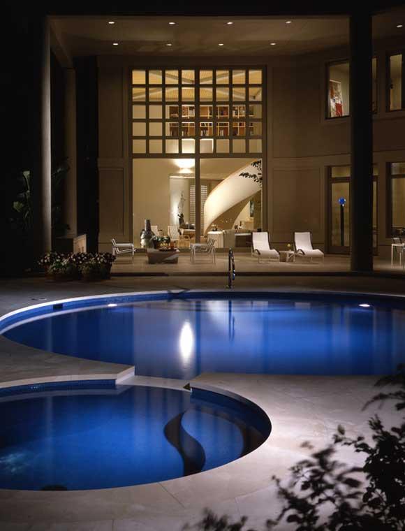 اجمل تصاميم احواض السباحة 29