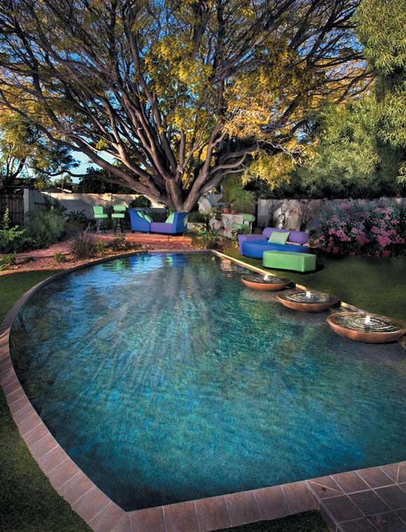 اجمل تصاميم احواض السباحة 32