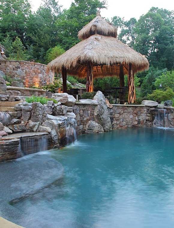اجمل تصاميم احواض السباحة 35