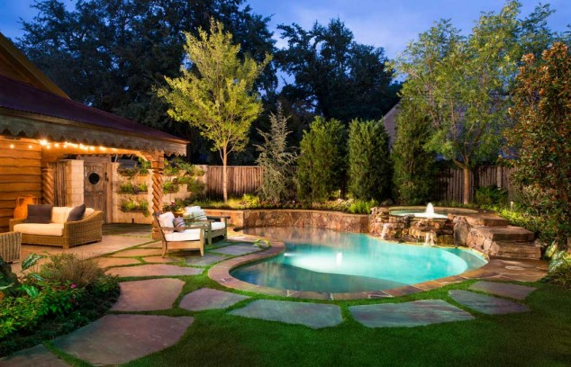 اجمل تصاميم احواض السباحة 4
