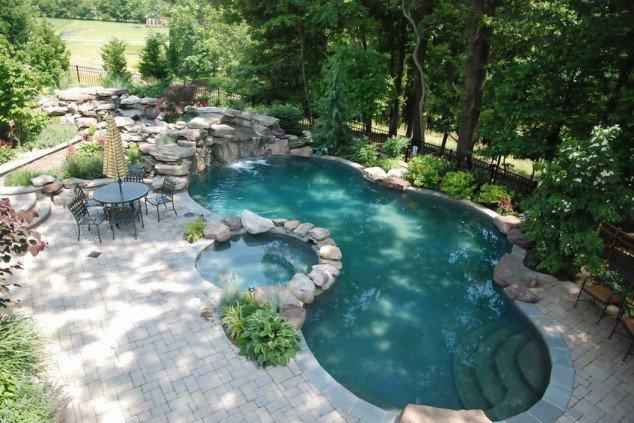 اجمل تصاميم احواض السباحة 5